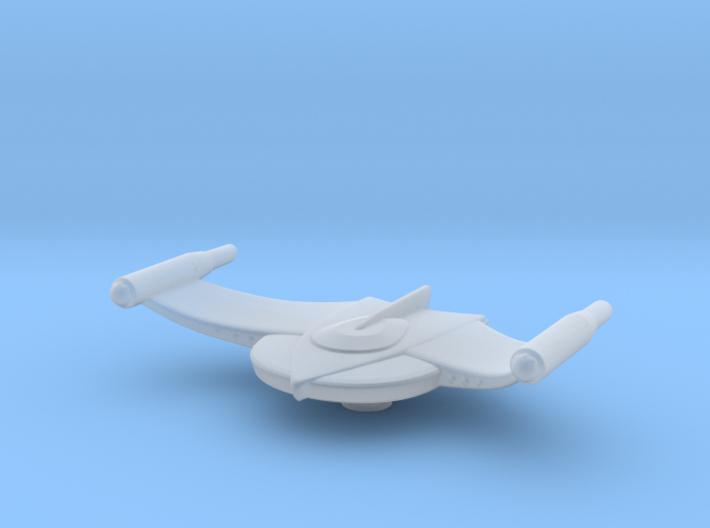 Romulan Bird-of-Prey (TOS) Refit 1/7000 Atack Wing 3d printed