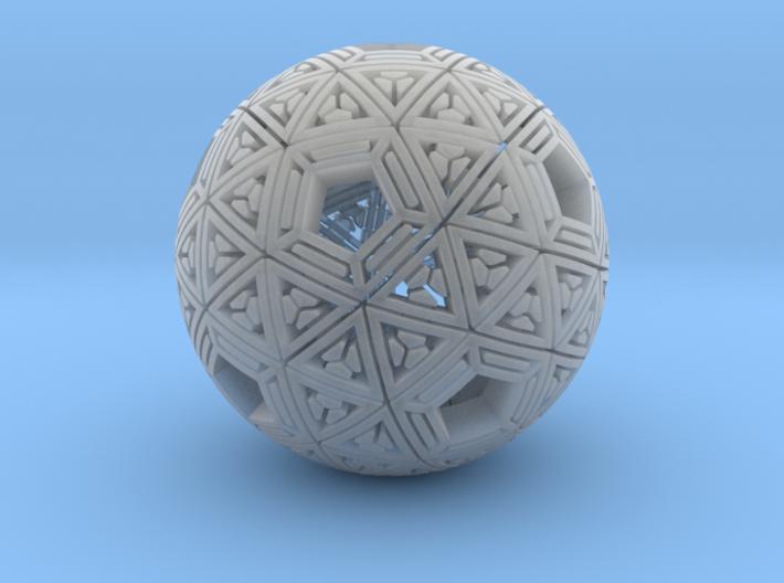 Soft-Boiled Geodesic (3.6cm) 3d printed