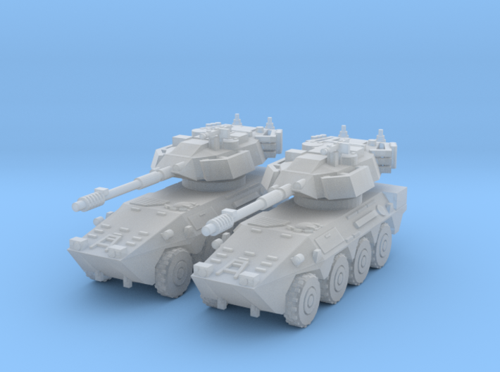 1/144 B1 Centauro recon car 3d printed
