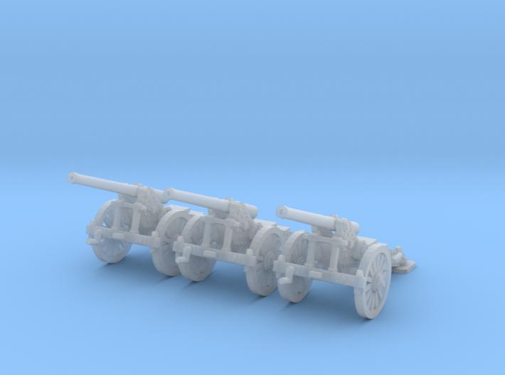 1/144 WW1 De Bange 155mm cannon 3d printed