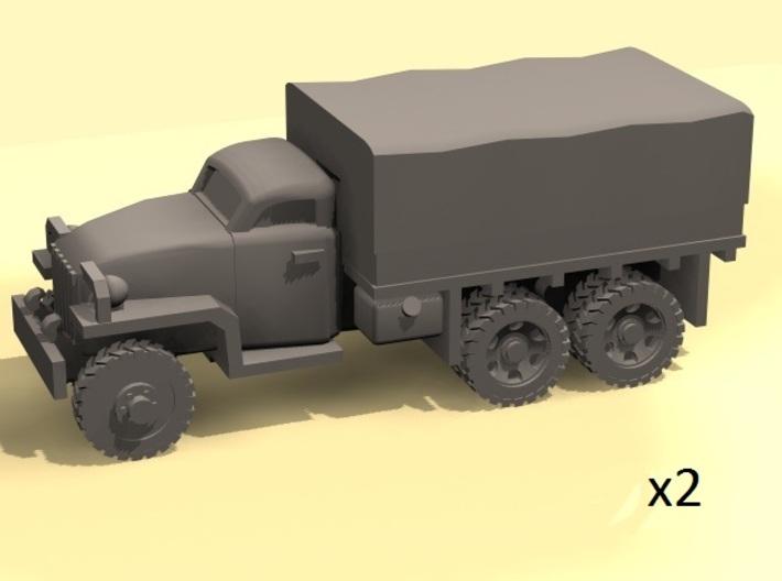 1/144 Studebaker truck 6x6 3d printed