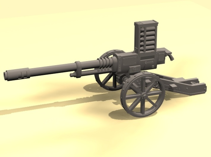 28mm Steampunk Automatic Cannon 3d printed