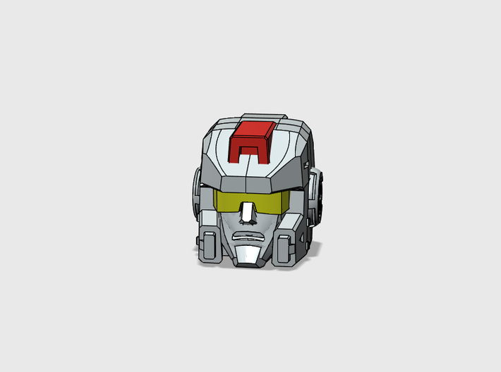 Space Bus G1 Toy Face 3d printed
