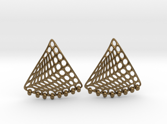Baumann Swing Earrings 3d printed