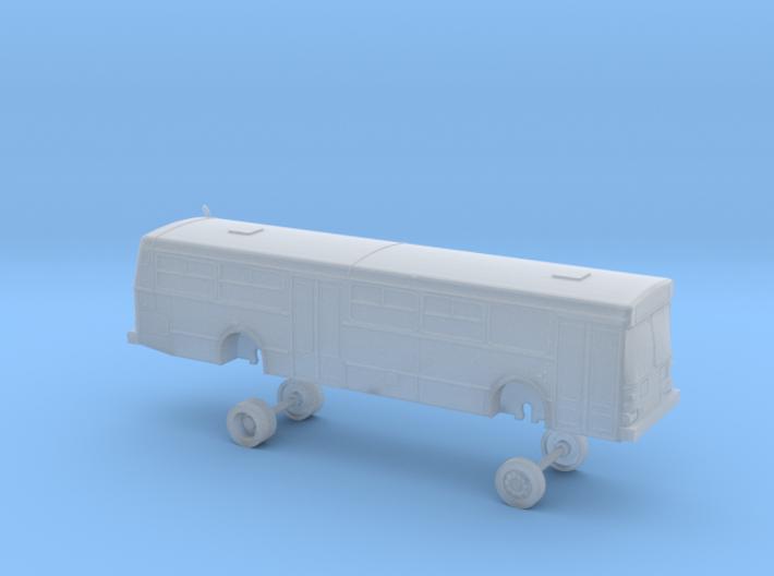 New Flyer D40; Muni bus 8800-8900 series 3d printed