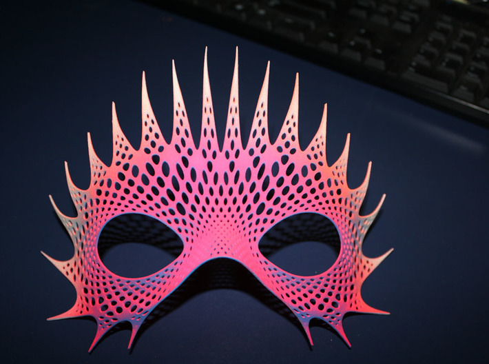 Party Mask 'Mystical Mind' 3d printed