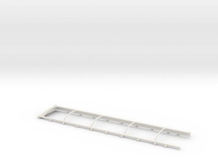 1/64 Belt Trailer Extension and Tarp Frame 3d printed