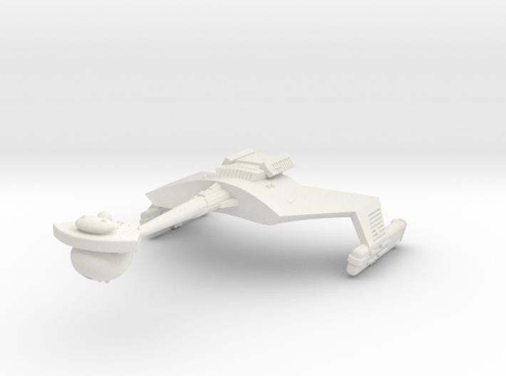 3788 Scale Klingon D7B Battlecruiser WEM 3d printed