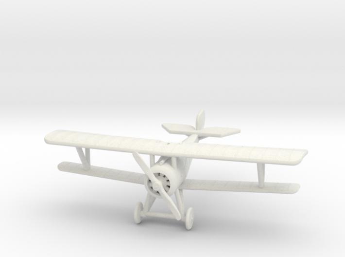 Nieuport 17 (Vickers, various scales) 3d printed 1:144 Nieuport 17