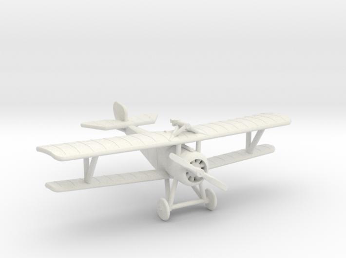 Nieuport 17 (Vickers + Lewis) 3d printed 1:144 Nieuport 17