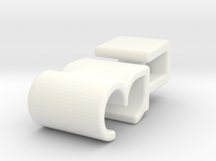 Lancia Delta Beta water pipe Clip 3d printed