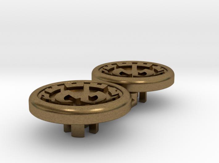 Dwemer spinner caps - Magnetic, Standard 3d printed