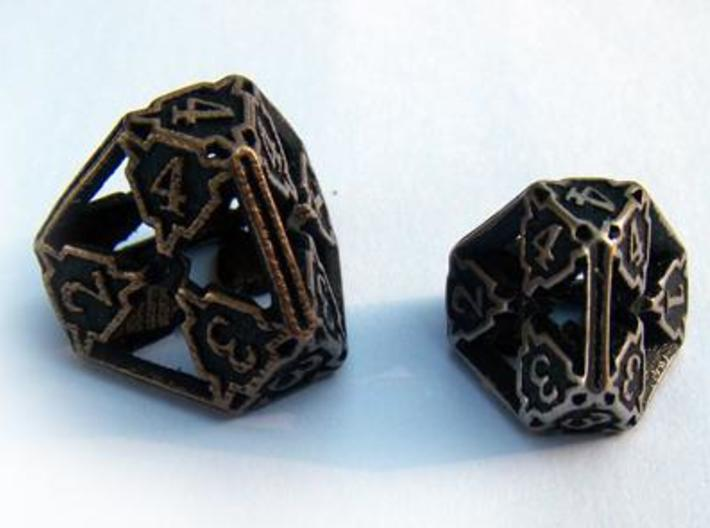Large Premier Die4 3d printed Compared to the standard-sized Die4