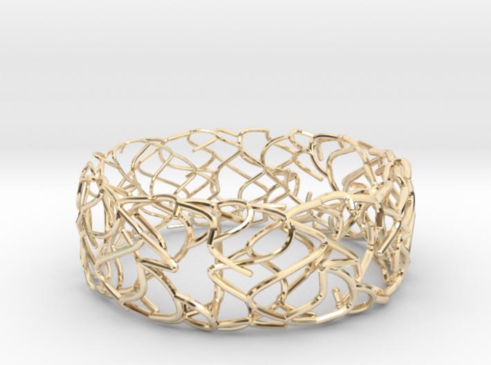 Sketch Bracelet 3d printed