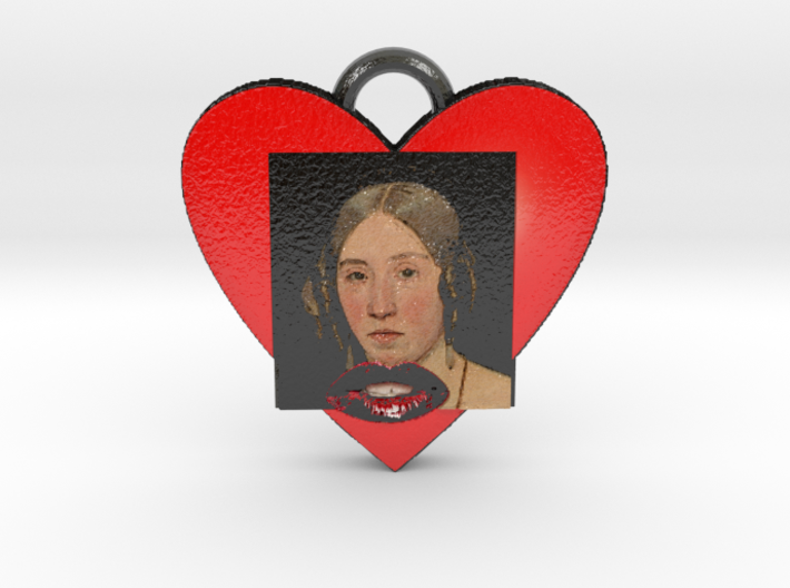 "Christen Købke""My sister in love""Necklace-""SMK"" 3d printed"