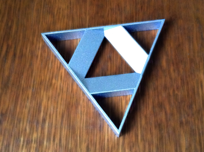 Tri-Force Inspired Bottle Opener 3d printed