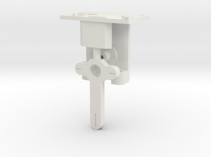 HO LQ Distant Signal Mechanism - Brass Post 3d printed