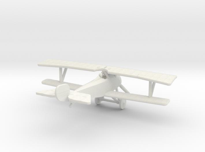Nieuport 21 (Vickers) 3d printed 1:144 Nieuport 21