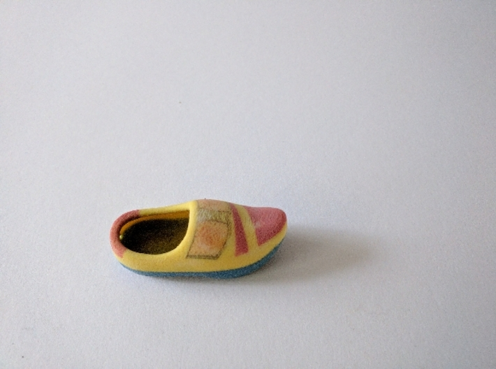 Just a Wooden Shoe 3d printed It's a real copy