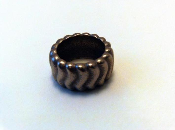 Wavy Ring 3d printed Photo