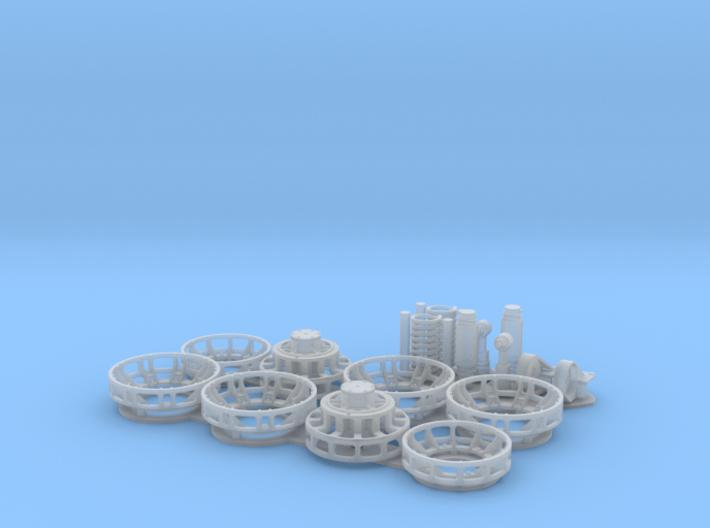 Halftrack suspension detail set for Dragon 3d printed