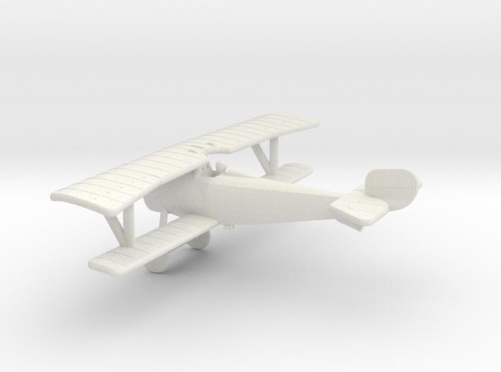 Nieuport 17bis (Vickers) 3d printed 1:144 Nieuport 17bis