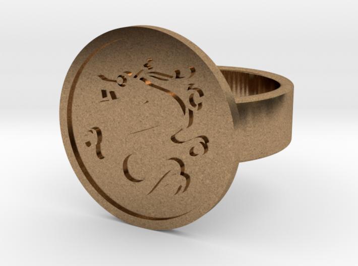 Dragon Ring 3d printed
