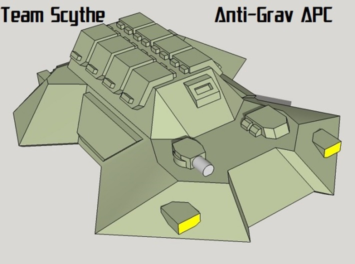 """Team Scythe"" 3mm Anti-Grav Task Force (39pcs) 3d printed"