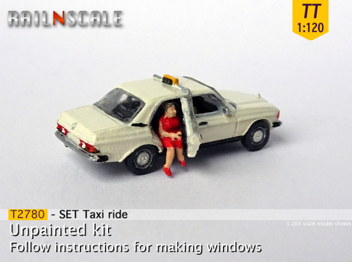 SET Taxi ride (TT 1:120) 3d printed