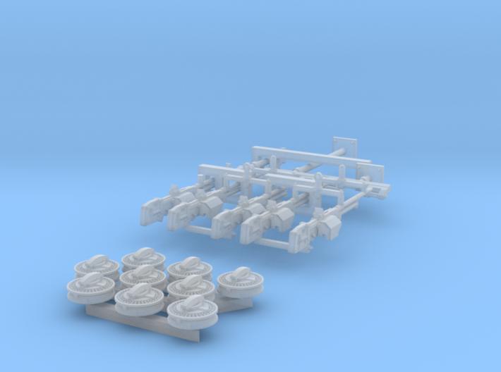 1/32 Vickers K GO Set001 3d printed