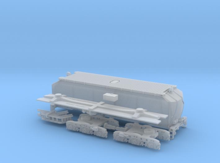 UP Water Tender Pre Rebuild (Ex Turbine) Type 1 3d printed
