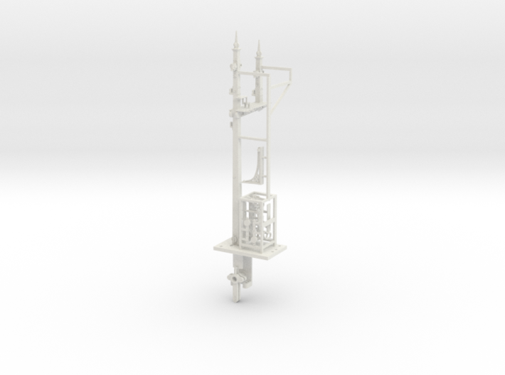 NSWGR 7mm LQ LH Bracket Signal and Parts 3d printed