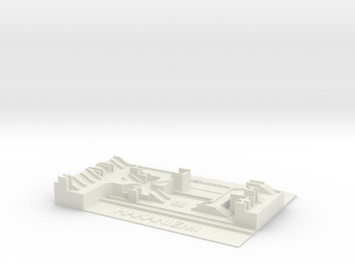 Hakaniemi Metroasema 3d printed