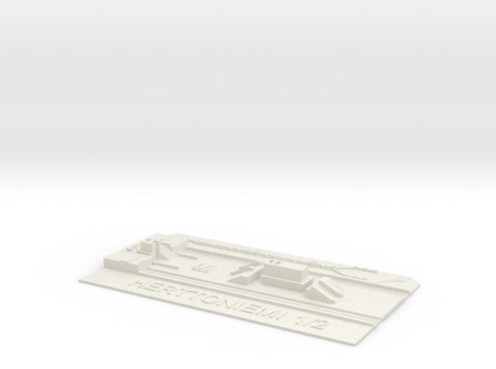 Herttoniemi Metroasema laituritaso 3d printed