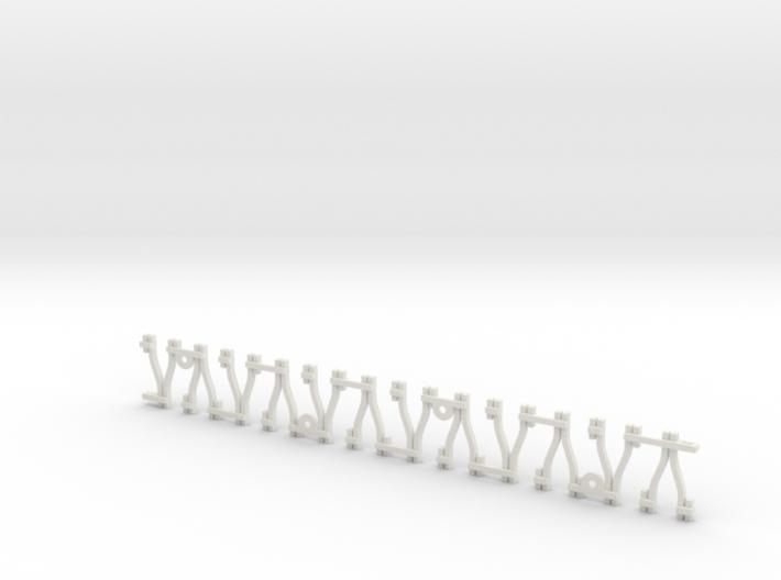Y-Schwellengleis, Code 75, 180 mm, Flexgleis 3d printed