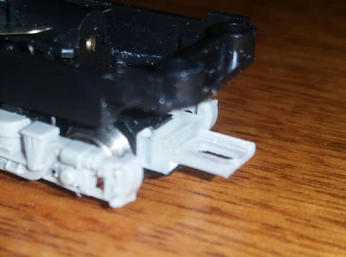 NTMA - TomyTec to MicroTrains 1017 Coupler Adapter 3d printed