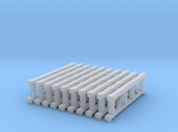Tieflader Auflagebock 10 stk 3d printed
