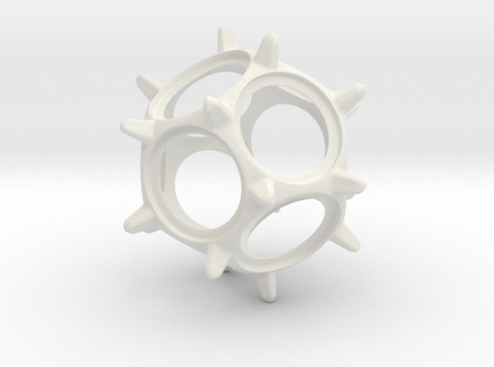 Penny Spinner 3d printed