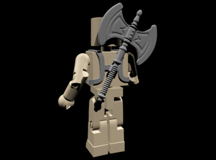 He-Man Armor for Minimates 3d printed