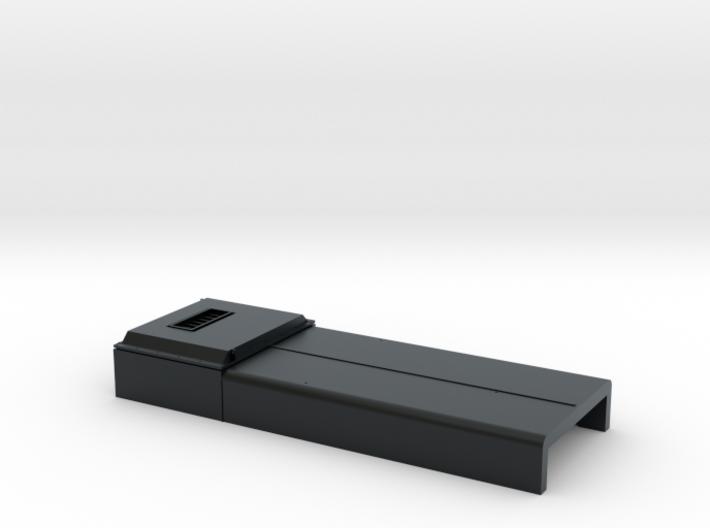 DB0010 SD40-2W ERH, Q Stack, As-Built 1/87.1 3d printed