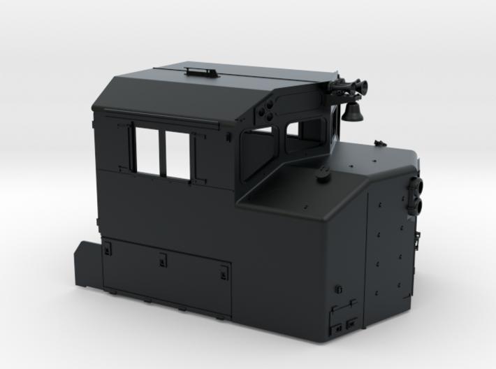 CB0004 CN GP38-2W AS BUILT 1/87.1 3d printed