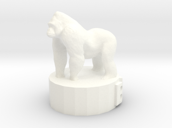 Gorilla Bishop 3d printed This is a render not a picture