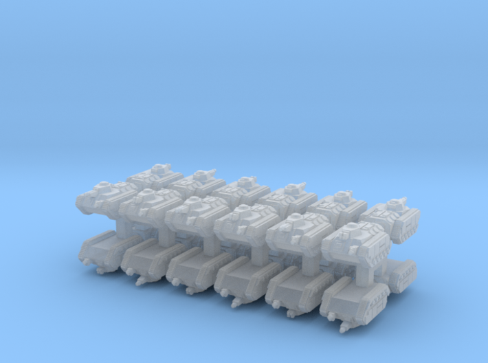 3mm Imperious Guard IFV Pack (24pcs) 3d printed