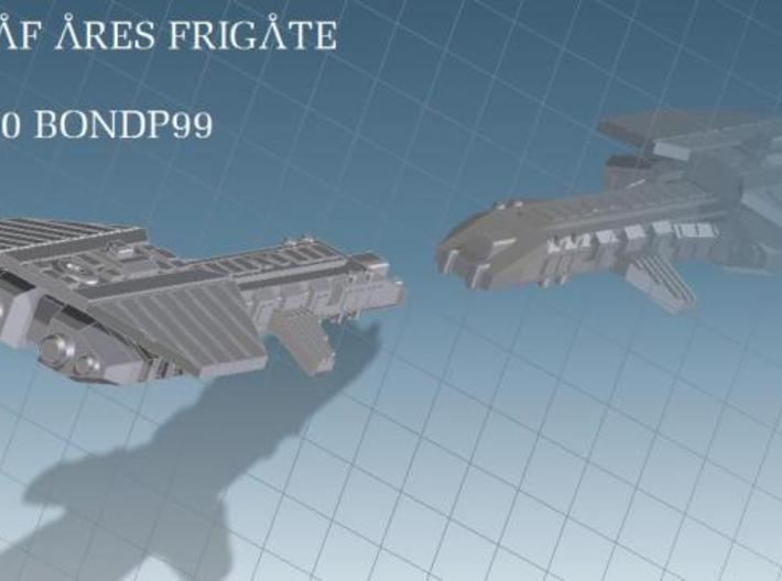 Ares Fleet Action 3d printed USAF Ares Frigate