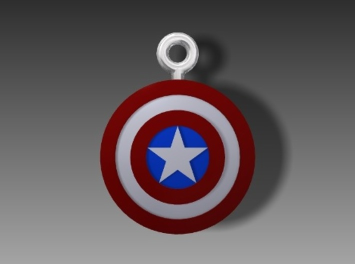 Captain America Top 3d printed Add a caption...
