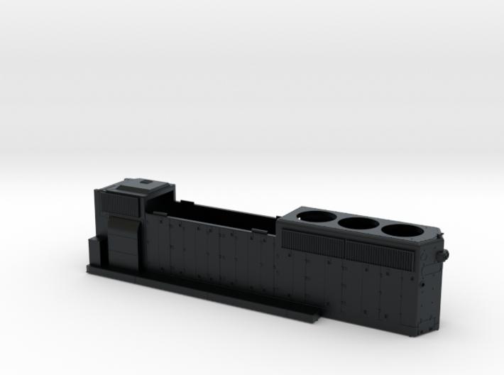 FEC419-429 GP40-2 HOOD 1/87.1 3d printed