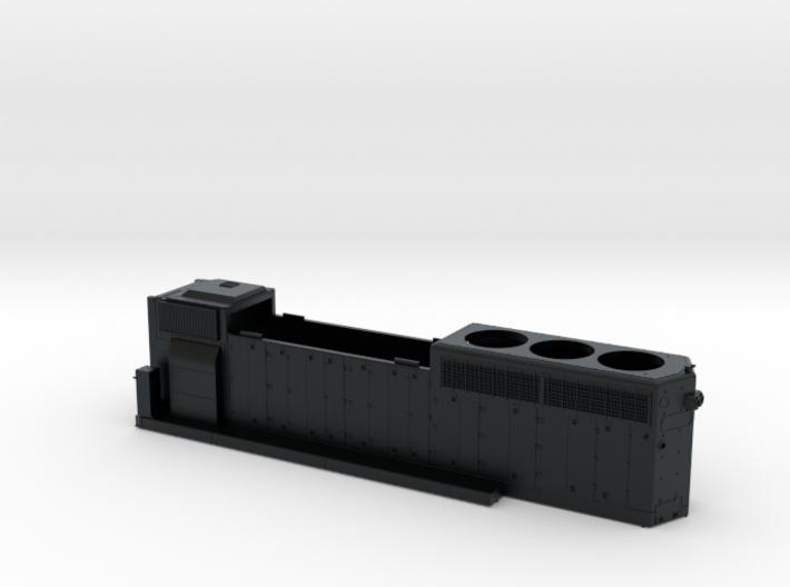 SCL1636-1656 GP40-2 HOOD 1/87.1 3d printed