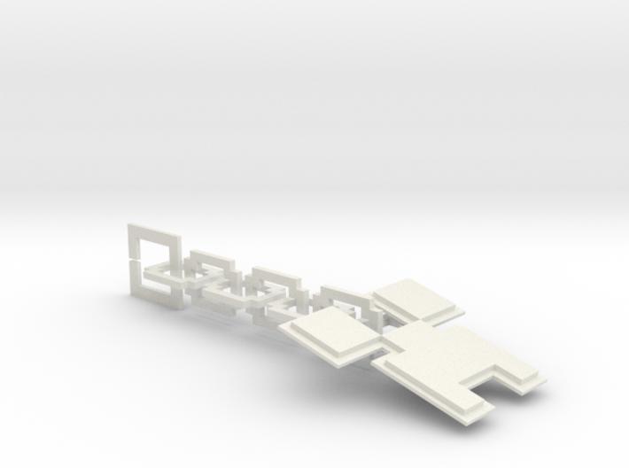 Creeper Key Chain 3d printed
