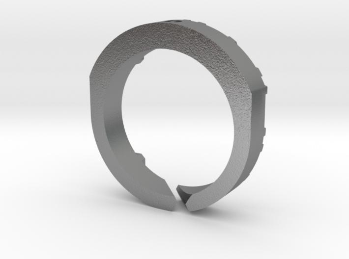 Trinity Ring MA 3d printed