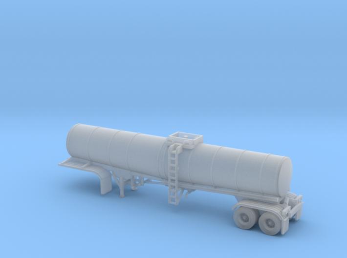 N scale 1/160 Crude Oil trailer, Brenner 210 3d printed